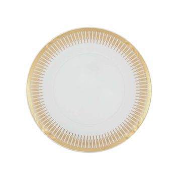 Gold Exotic Dinner Plate