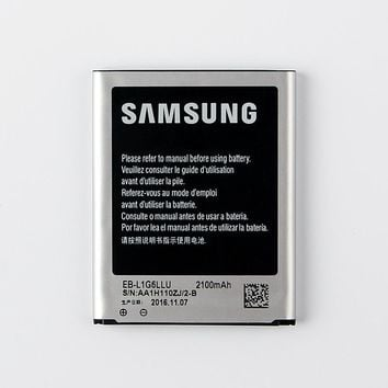 100% Original Replacement Battery EB-L1G6LLU For Samsung  I9300 GALAXY S3 I9308 L710 I535 Phone Battery  2100mAh