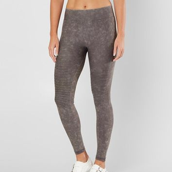 Boom Boom Moto Legging - Women's Pants in Washed Grey | Buckle