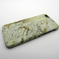 Gold Marble Stone iPhone 5se 5s 6 6s Plus Case Cover + Nice Gift Box 276-170928