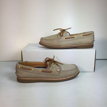 Sperry Men's A/O Leather Boat Shoe (NWOB)