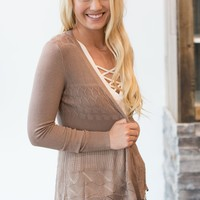 Pointelle Detailed Cardigan - Multiple Options