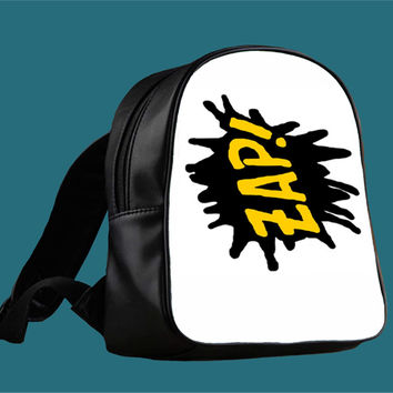 ZAP tattoo for Backpack / Custom Bag / School Bag / Children Bag / Custom School Bag *