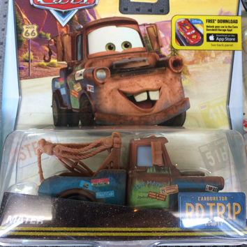 Disney Cars Exclusive Road Trip Cars Mater