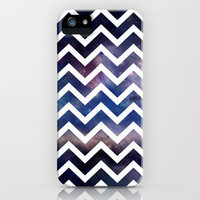 Galaxy White Chevron iPhone Case by Rex Lambo | Society6