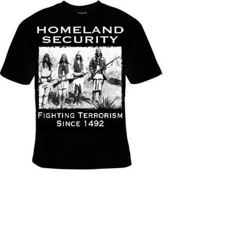 homeland security humor comedy t-shirt cool funny t-shirts gift present humor tee shirt