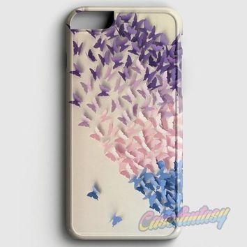 Ombre Butterfly Heart iPhone 6 Plus/6S Plus Case