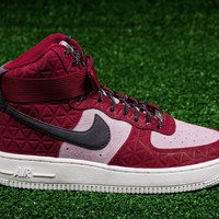 QIYIF NIKE WOMENS AIR FORCE 1 HI PRM SUEDE