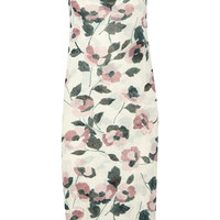 Suno - Printed ribbed stretch-jersey midi dress