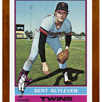1976 Bert Blyleven Archive Print #235-No Frame-23 x 31