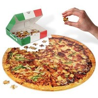 Spinning Hat Takeaway Pizza Puzzle