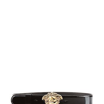 Versace - Patent Leather Medusa Belt