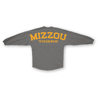 "University of Missouri Sweeper Jersey ""TIGERS"" Grey"