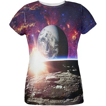 Explore The Infinity Of Space All Over Womens T Shirt
