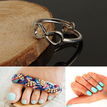Infinity Fashion Toe Ring Foot Ring