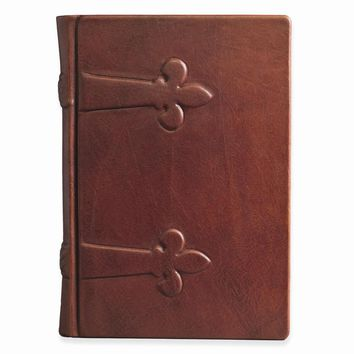 Monastic Brown/Wheat/Croco Suede/Classico Brown Leather Firenze Journal