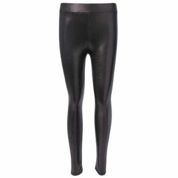 Gilding Skinny Pencil Pants - Black One Size