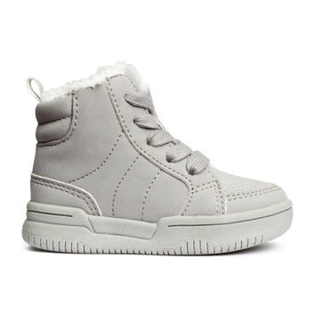 Pile-lined High Tops - from H&M