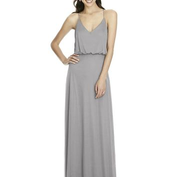 Alfred Sung by Dessy D739 Boho Bridesmaid Dress