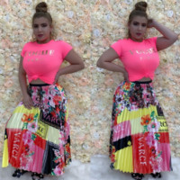 Versace Newest Fashion Women Letter Print Skirt