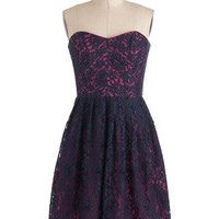 Corey Lynn Calter Blueberry Extraordinary Dress | Mod Retro Vintage Dresses | ModCloth.com
