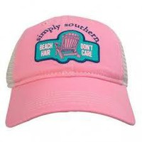 "Simply Southern ""Beach Hair"" Mesh Hat"