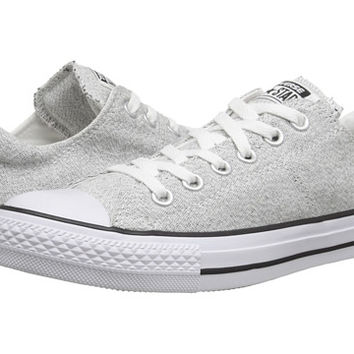 Converse Chuck Taylor® All Star® Madison Heathered Canvas Ox White Black White  - Zappo 59cb36712e8d