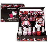 OPI Hello Kitty Collector's Edition, 6 Nail lacquer, . 5 fl. oz