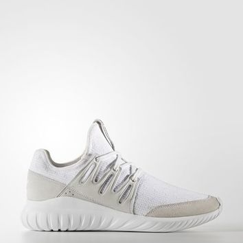 adidas Tubular Radial Primeknit Shoes - White | adidas US