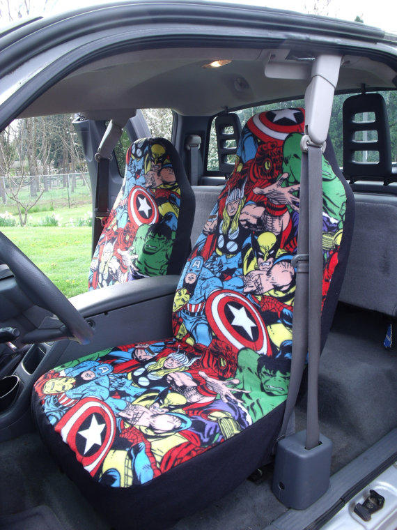 Print Car Seat Covers And