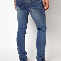 Cheap Monday | Cheap Monday Jeans Tight Skinny Fit In Washed Blue at ASOS