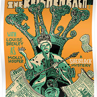 Vintage Poster - The Reichenbach Fall