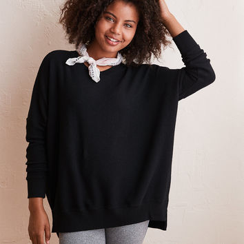 Aerie Hometown Sweatshirt, True Black
