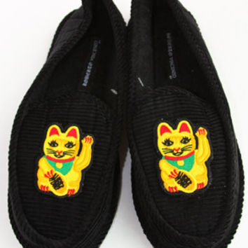 Money Cat Slippers