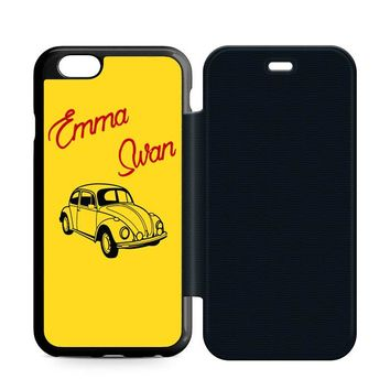 Emma Swan Leather Wallet Flip Case iPhone 6 | 6S