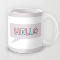 Hello Mug by ALLY COXON