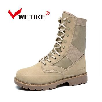 Men's Hiking Boots Mountain Non-slip Hiking Shoes Wear-resistant Hiking Camping Shoes Hunting Boots Outdooe Sports Shoes For Men