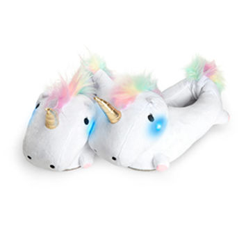 Unicorn Light-Up Slippers