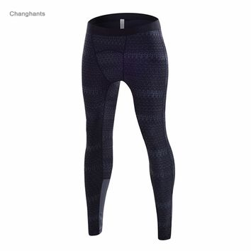 Men Running Tights Stripe Basketball Tight Jerseys Quick Dry Yoga Sportswear Elastic Red Green Blue Black Gray Pants Gym Clothes