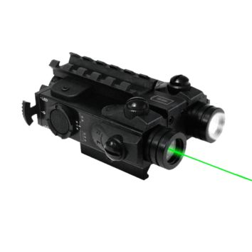 XTS XLG Tactical Flashlight/Green Laser Rifle Combo