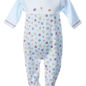 Baby Threads Pima Cotton Football Footie