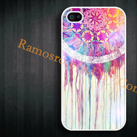 Personalized phone cover, iPhone case - Dream Catcher iPhone 5 case, iPhone 4s cover, plastic silicone iPhone 4 case