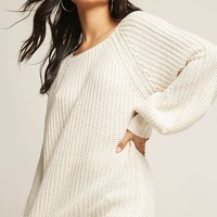 Selfie Leslie Ribbed Balloon-Sleeve Sweater