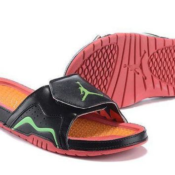 PEAPGE2 Beauty Ticks Nike Jordan Hydro Vii Sandals Slipper Shoes Size Us 7-12