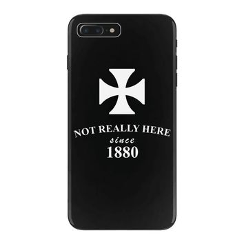 not really here tumblr gift present 1880 iPhone 7 Plus Case
