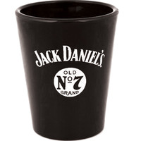 Jack Daniel's Shot Glass - Black