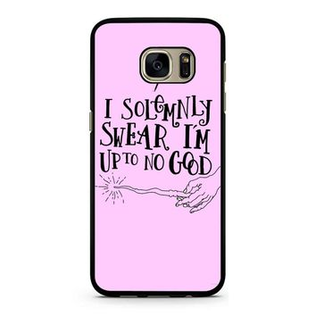 I Solemnly Swear That I Am Up To No Good Samsung Galaxy S7 Case