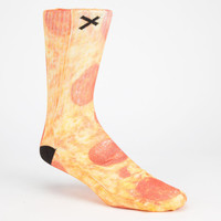 Odd Sox Pizza Mens Tube Socks Red Combo One Size For Men 25689234901