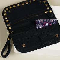 Free People Distressed Studded Wallet