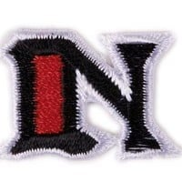 Fuzzy Dude Tattoo Alphabet Patch - N Accessories Patches at Broken Cherry